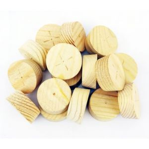 28mm Joinery Grade Redwood Tapered Wooden Plugs 100pcs