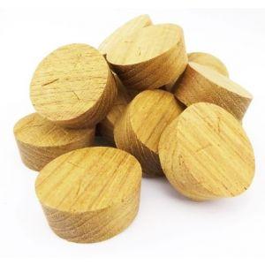 32mm Teak Tapered Wooden Plugs 100pcs
