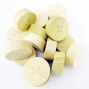 32mm Tulipwood Tapered Wooden Plugs 100pcs