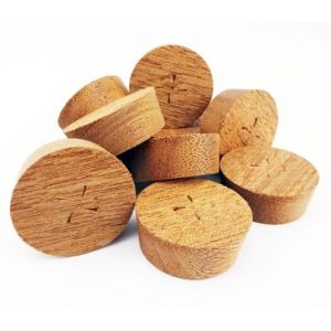 32mm Utile Tapered Wooden Plugs 100pcs