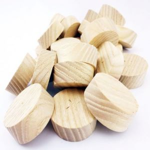 35mm Ash American White Tapered Wooden Plugs 100pcs