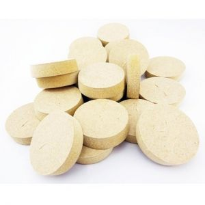 21mm Brown MDF Tapered Wooden Plugs 100pcs supplied by Appleby Woodturnings
