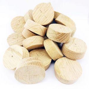 35mm European Oak Tapered Wooden Plugs 100pcs