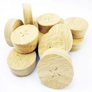 35mm Idigbo Tapered Wooden Plugs suitable for Kitchen Doors 100pcs