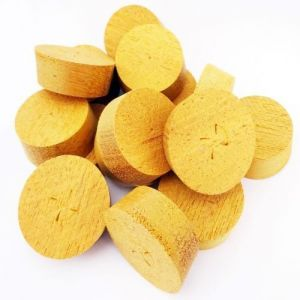 34mm Opepe Tapered Wooden Plugs 100pcs