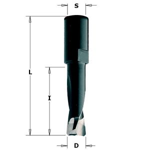 8mm Router Drill Bit for Domino Joining Machine DF700 by Festool