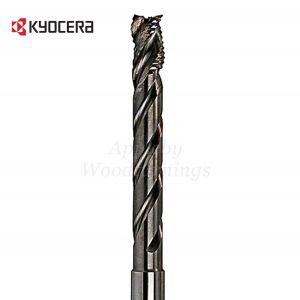 16mm dia x 110mm reach CNC S=16mm Lockcase Spiral Router 3 Flute Positive R/H Unimerco