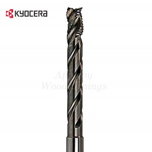 12mm dia x 80mm reach CNC S=12mm Lockcase Spiral Router 3 Flute Positive R/H Unimerco
