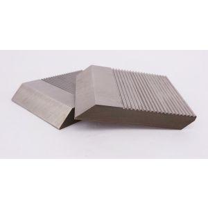 1 Pair HSS Serrated Profile Blanks 40 x 40 x 8 mm
