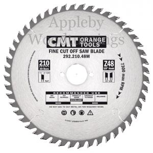 240mm Z=48 Id=30 CMT Hand Held / Portable Saw Blade To Fit Festool AP88