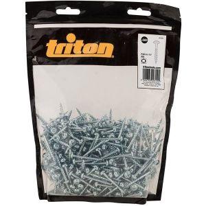 "Triton Pocket Hole Screws 8mm x 1-1/4"" - 500 Pieces"