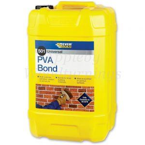 Everbuild 501 PVA Bond Wood Glue 5 ltr