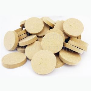 50mm Brown MDF Tapered Wooden Plugs 100pcs