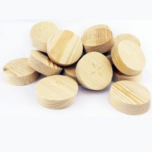47mm Larch Tapered Wooden Plugs 100pcs