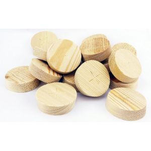 65mm Larch Tapered Wooden Plugs 100pcs