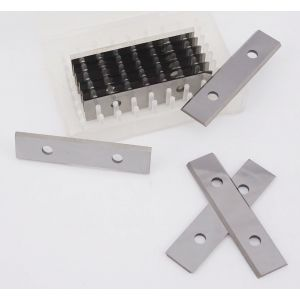 50 x 12 x 1.5mm Replacement Carbide Turn Blade Knife Tips Box of 10pcs ( 1 box )