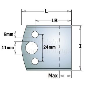 50mm Euro Profile BLANK Limitors ONLY
