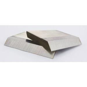1 Pair HSS Serrated Profile Blanks 60 x 40 x 8 mm