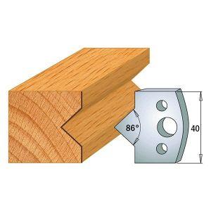 40mm Euro Profile No.35 Limiters CMT 691.035 - 1 pair