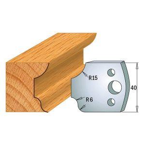 40mm Euro Profile No.44 Limiters CMT 691.044 - 1 pair