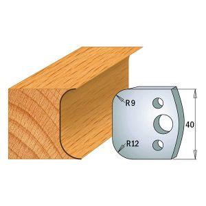 40mm Euro Profile No.50 Limiters CMT 691.050 - 1 pair