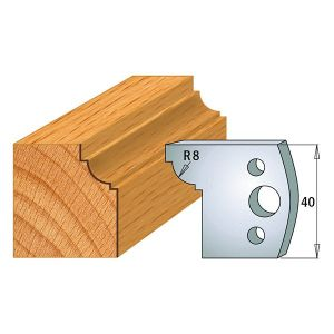 40mm Euro Profile No.67 Limiters CMT 691.067 - 1 pair