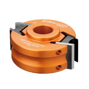 100mm x 30mm bore Aluminum CMT Cutter Head with Limiters 693.100.30