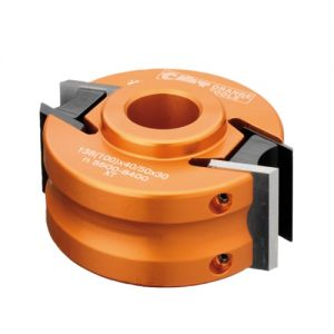 100mm 30mm Bore Steel CMT Cutter Head with Limiters 693.101.30