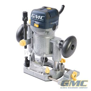 """GMC 710w Plunge & Trimmer Router 1/4"""" 732455"""