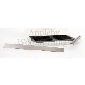 75.5mm Reversible Carbide Planer Blades to suit Black & Decker DN750