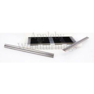 75.5mm Reversible Carbide Planer Blades to suit Black & Decker SR600K