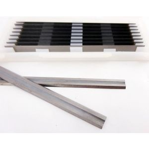 75.5 x 5.5 x 1.1mm Tungsten Carbide (TCT) Reversible Planer Blades 10pcs