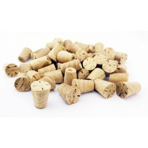 35mm Chestnut Tapered Wooden Plugs suitable for Kitchen Doors 100pcs