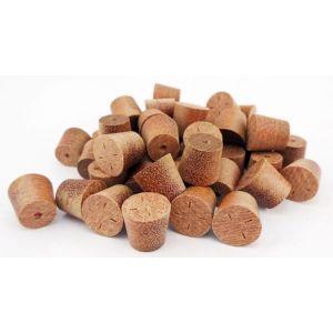 9mm Massaranduba Tapered Wooden Plugs 100pcs
