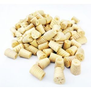 8mm Softwood / Pine Tapered Wooden Plugs 100pcs