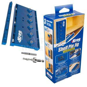 "Kreg Shelf Pin Jig Kit Shelving Woodworking Carpentry Tool 32mm (1 1/4"")  941290"