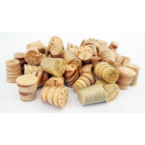 3/8 Inch Columbian Pine Tapered Wooden Plugs 100pcs