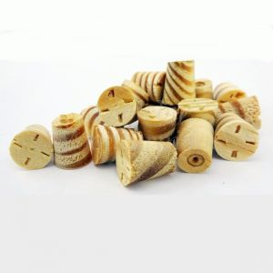 3/8 Inch Southern Yellow Pine Tapered Wooden Plugs 100pcs