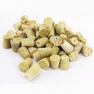 9mm Tulipwood Tapered Wooden Plugs 100pcs