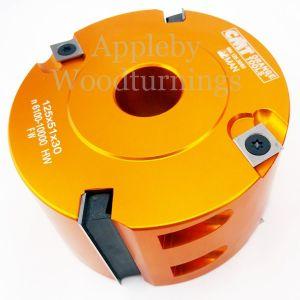 CMT 125 x 50mm Id=31.75 Aluminium Rebate Head 694.125