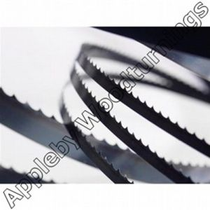 """Appleby Woodturnings Proud Suppliers Of 103"""" (2616mm) Bandsaw Blade 1/2"""" x 3 tpi Dakin Flathers High Spec."""