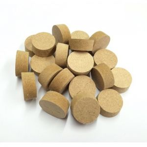 19mm Brown MDF Tapered Wooden Plugs 100pcs
