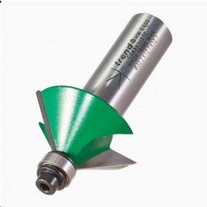 Trend 45° Guided Chamfer Cutter 17.7mm Cut length x 32mm Diameter