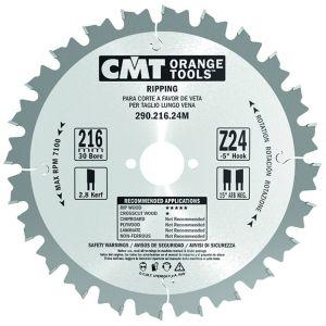 250mm Z=24 ATB Id=30 CMT Table / Rip Saw Blade 285.040.10M