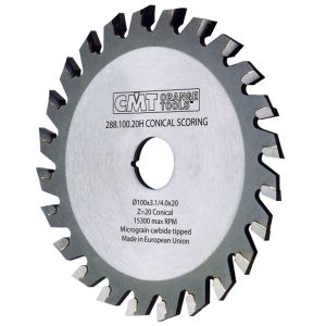 120mm Z=24 Id=22 CMT Conical Scoring Saw Blade 288.120.24K