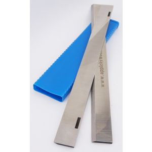260 x 18 x 3mm Slotted HSS Resharpenable Planer Blades 1 Pair