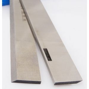 """Multico 12"""" 1/8"""" HSS Resharpenable Slotted Planer Blades 1 pair"""