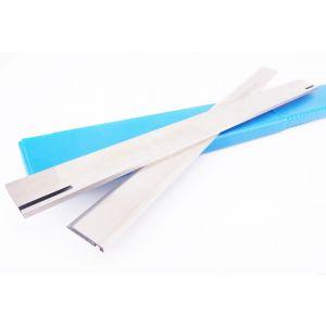 260 x 20 x 3mm Slotted HSS Resharpenable Planer Blades to suit Elektra Beckum machines - 1 Pair