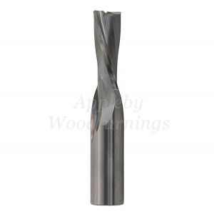 6mm dia x 26mm cut CNC S=8mm Finishing Spiral Router 2 Flute Neg. R/H FREUD