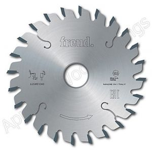 100mm Z=24 Id=20 Freud Conical Adjustable Scoring Saw Blade to suit Felder and Schelling Machines